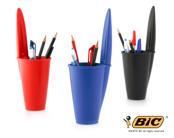 BiC pen lid pen holder all colours