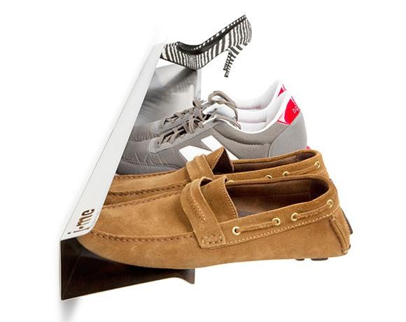 Wall Shoe Rack - wall mounted shoe storage