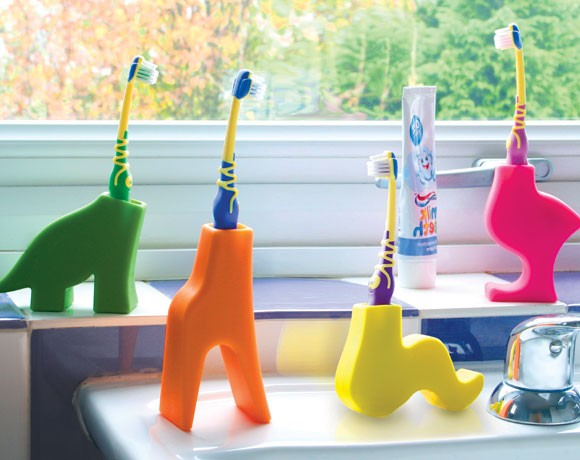 Cute Animal Brushing Teeth