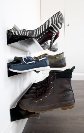 Wall Shoe Rack Horizontal Wall Mounted Shoe Rack J Me