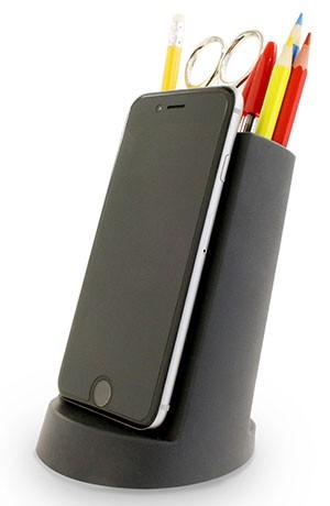 Lean desk tidy desk mobile phone holder j me lean desk tidy black gumiabroncs Gallery