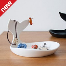 baby whale jewellery dish