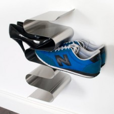 nest vertical shoe rack - wall