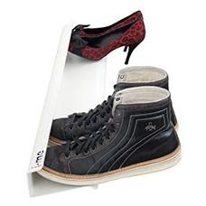 horizontal shoe rack white 700mm