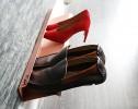 horizontal shoe rack 700mm copper