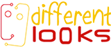 different looks logo