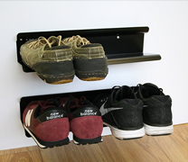 horizontal shoe rack 400mm