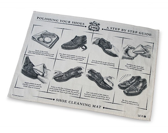 shoe cleaning mat