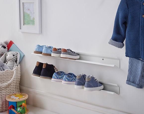 Kid S Horizontal Shoe Rack