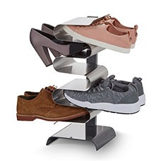 nest free standing shoe rack