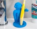 spaceman toothbrush holder