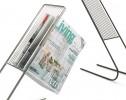 float magazine rack - detail
